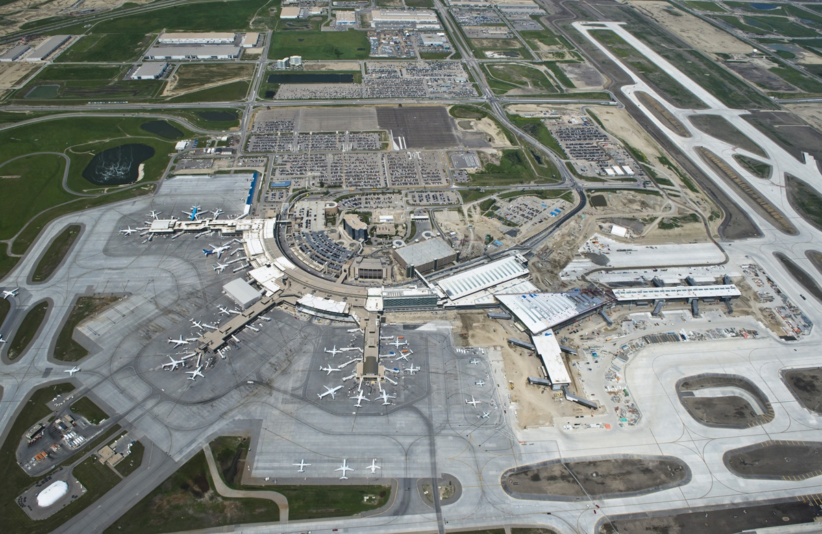 Calgary International Airport continues to expand its capacity for both passenger and cargo traffic.
