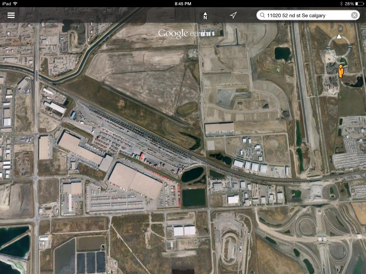 CN Rail's Calgary Logistic Park