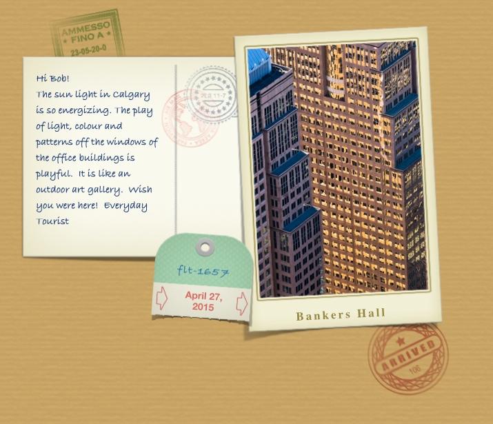 Postcard Banker's Hall