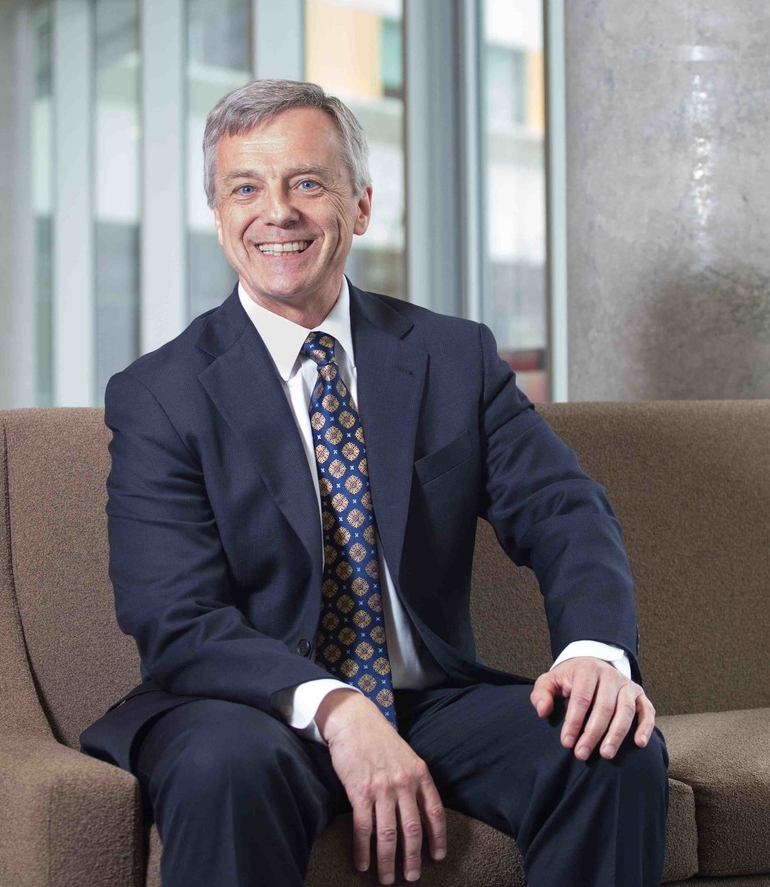 Former Canadian astronaut and University of Calgary alumnus Dr. Robert Thirsk is the University's current chancellor.