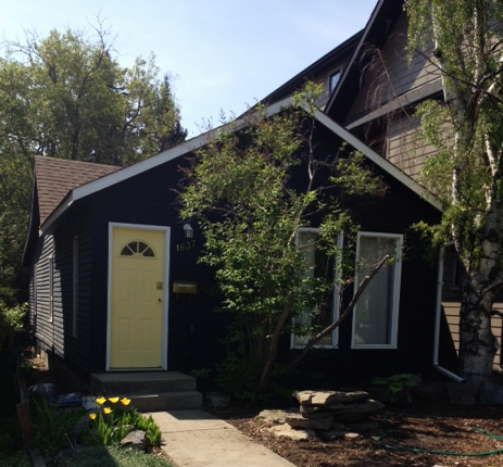 There are still many small cottage homes along the 1600 and 1700 blocks of Bowness Road that retain the small town charm that was once Calgary.