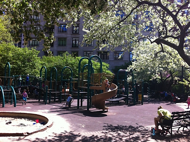 For families living near a playground can be more important than living near a grocery store, bakery or cafe.