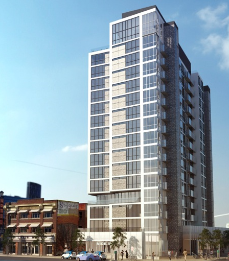 N3 condo in Calgary's East Village will have no parking stalls for residents.