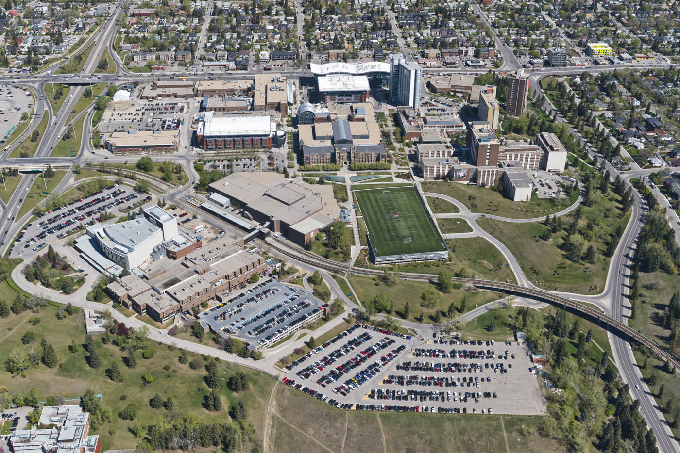 SAIT campus (photo credit: Peak Aerials)