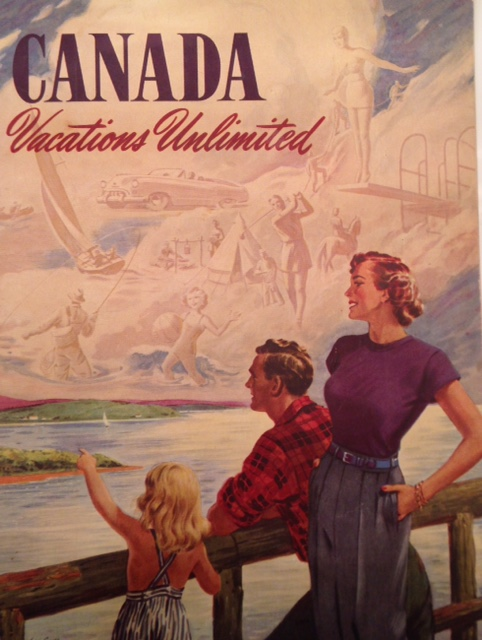 CANADA Vacations Unlimited 1951
