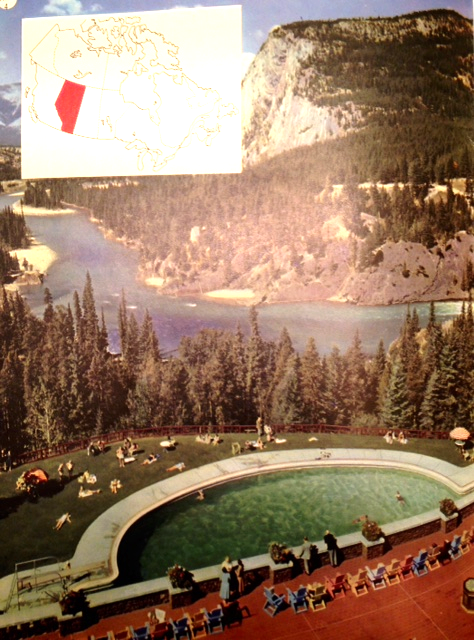Bow River Valley from Banff Springs Hotel (full page)