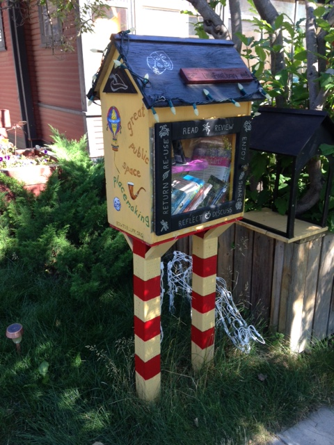 Just one of 200+ Little Free Libraries across Calgary.