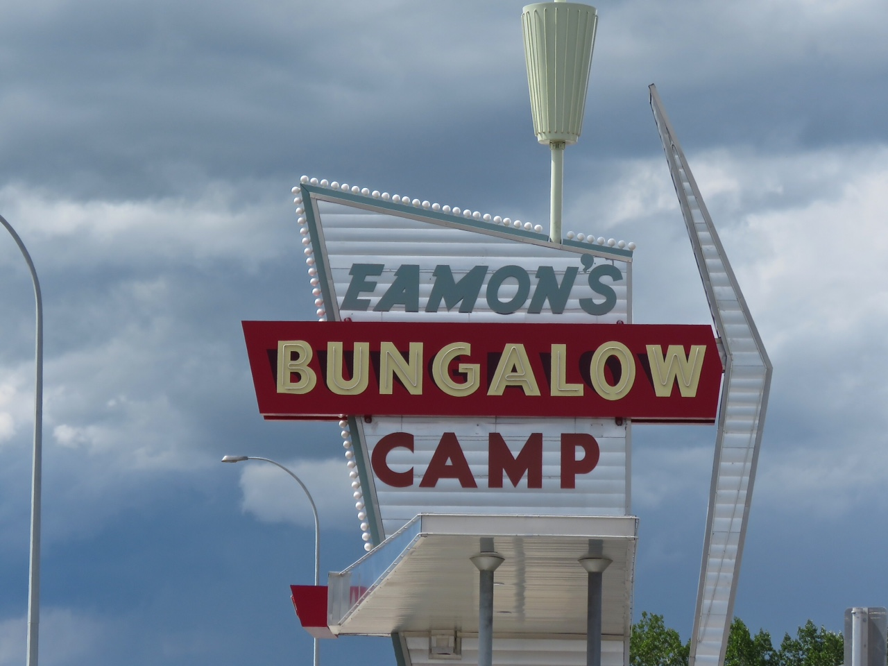 Eamon's Bungalow Camp built in the 1950s and was an icon for people travelling in and out of Calgary for decades. For the complete story click here:   Avenue Magazine: The Story of Eamon's Camp