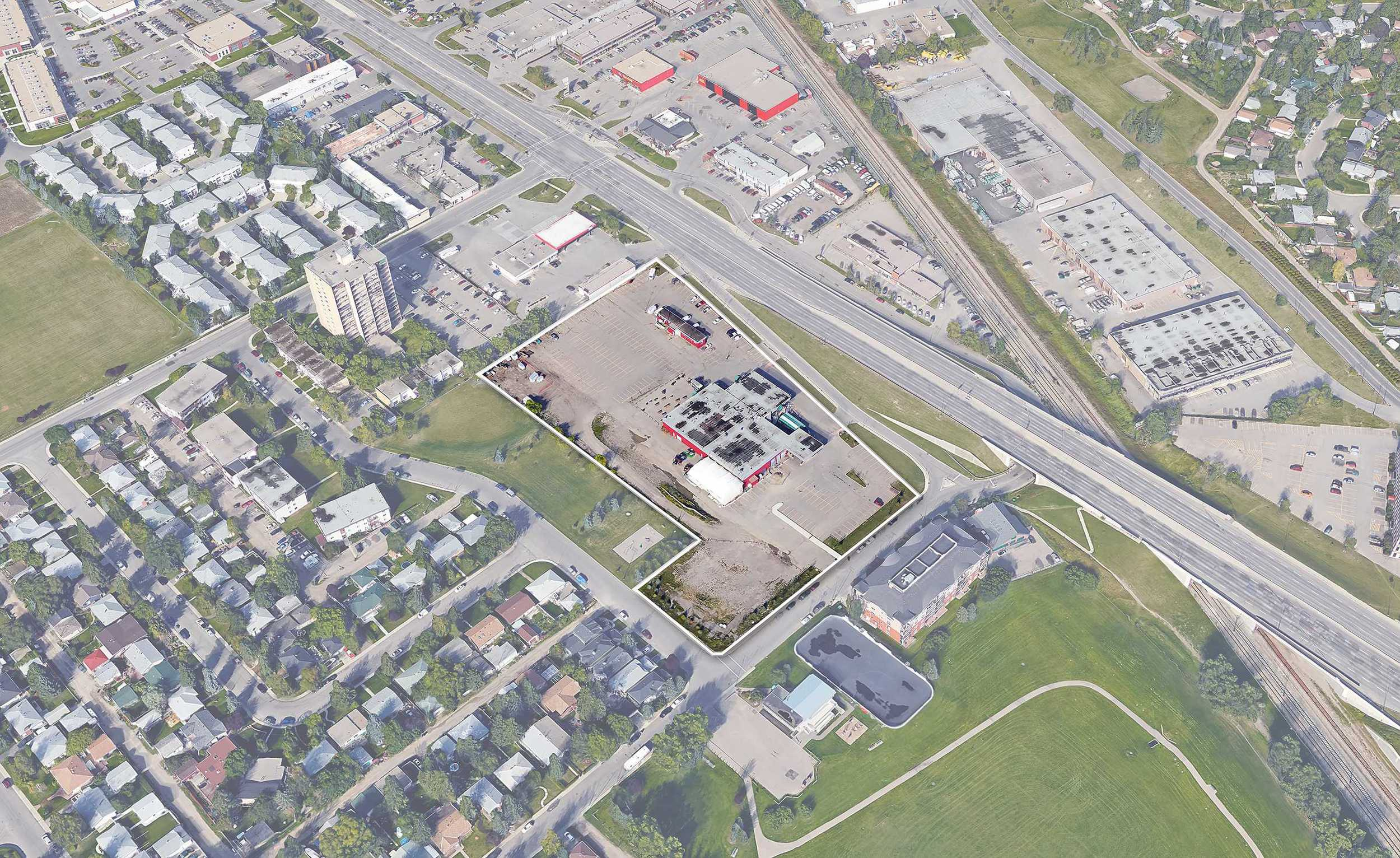 Brookfield's Kingsland Market on Macleod is ideally situated to become the gateway to the community from Macleod Trail.