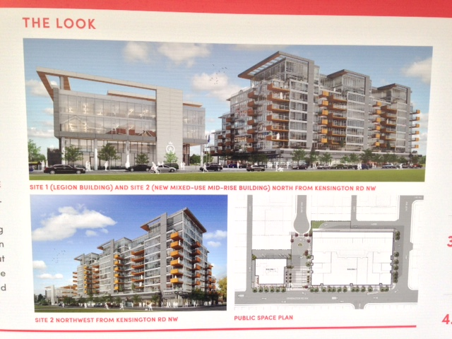 Concept images of the proposed buildings for Kensington Legion site redevelopment.