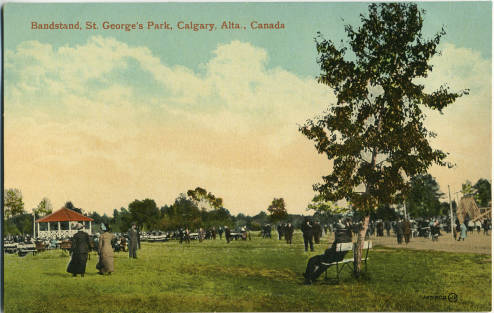 St. George's Island's bandshell.