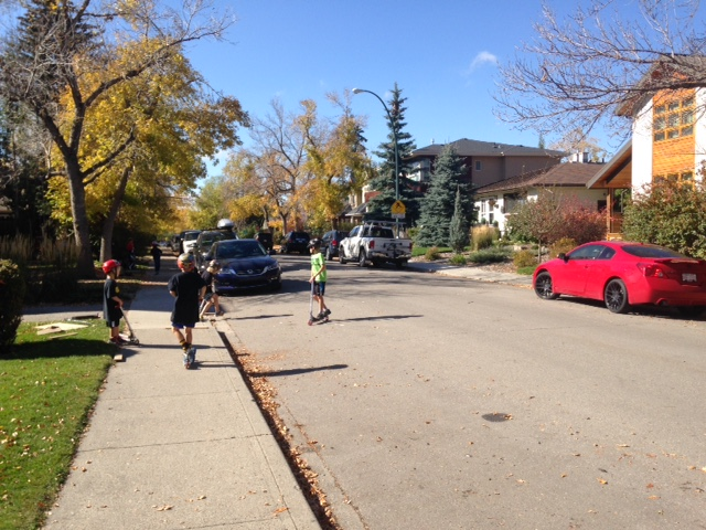 Residential streets with just a few parked cars are much safer for everyone!