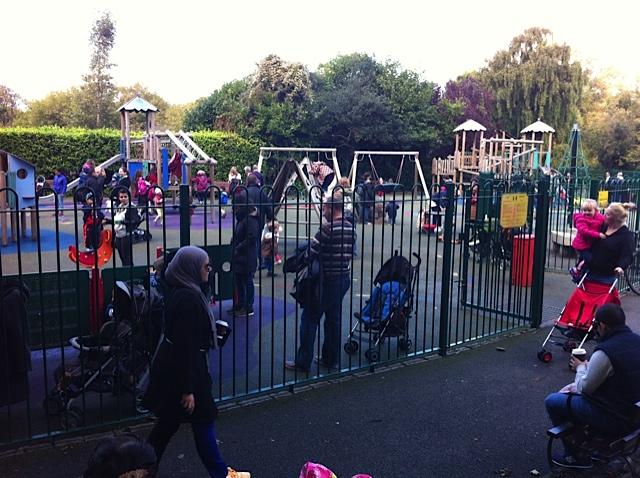 Dublin playground