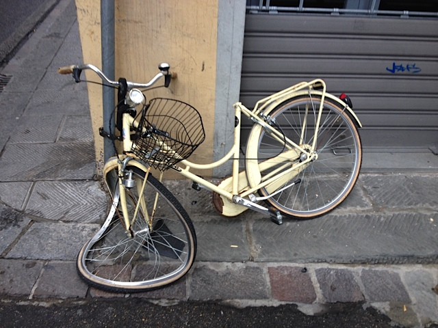 Salvador Dali's Bike?