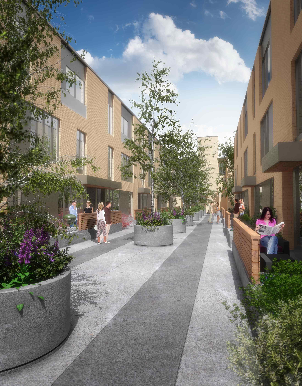 Altadore 36 Courtyard.