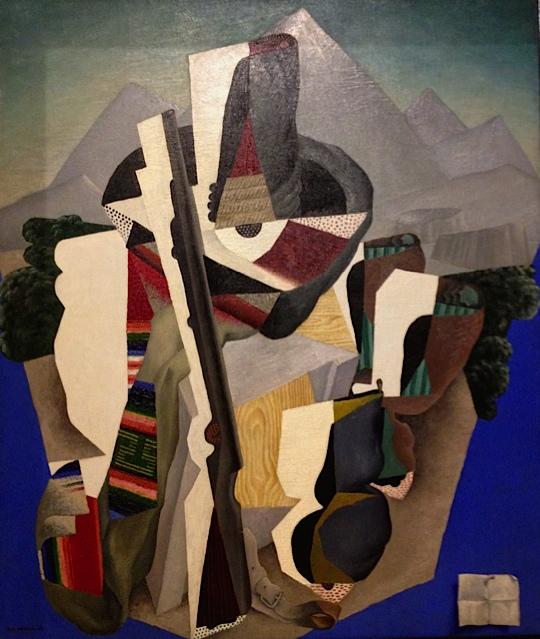 Diego Rivera, Zapatista Landscape, 1915