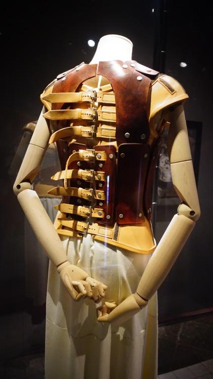 Kahlo elaborate corset