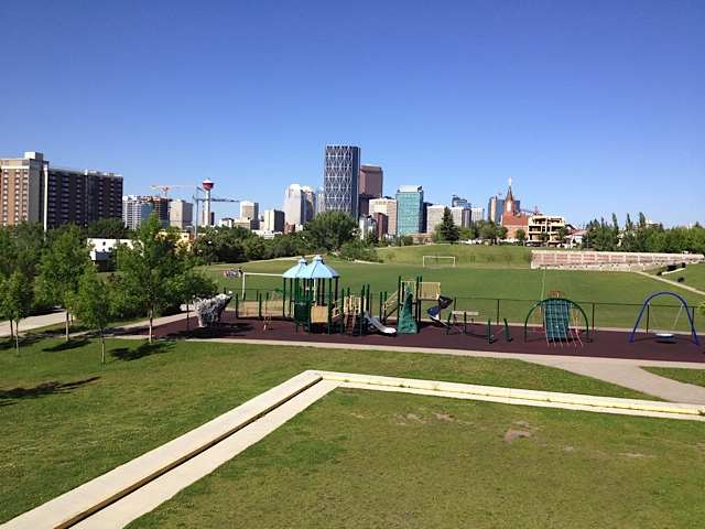 Bridgeland Park Calgary