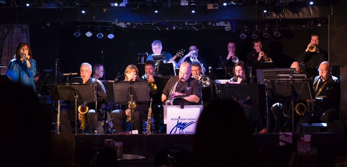 Wednesday Night Big Band (photo credit: Gerry David)