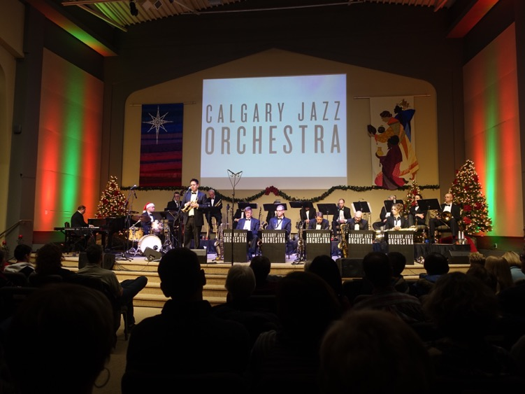 Calgary Jazz Orchestra with Johnny Summers
