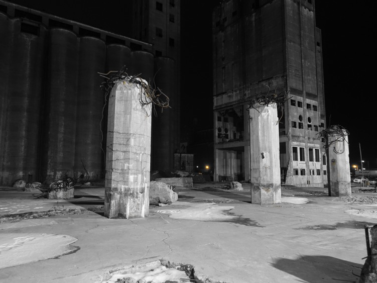 David: These ruins from at Riverworks will become the coolest summer patio in 2016. R