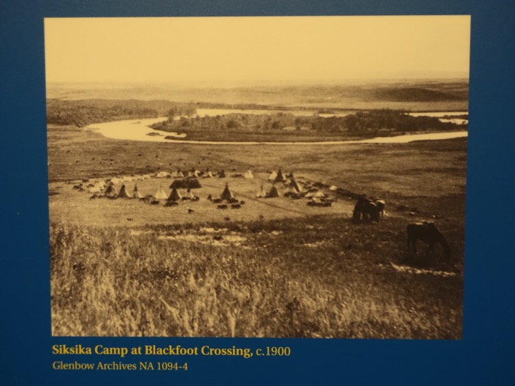 First Nation camp at Blackfoot Crossing