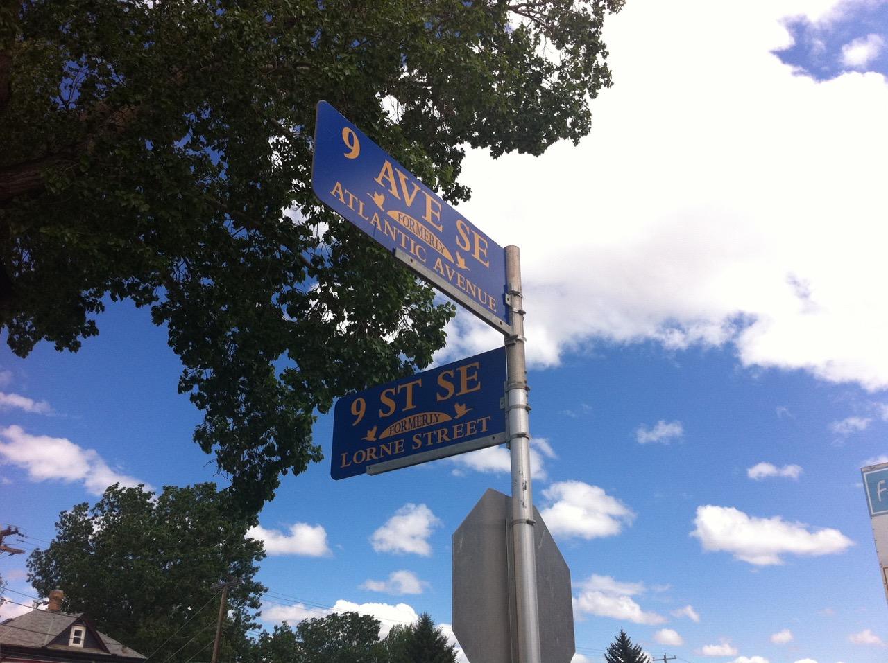 Corner of Atlantic Ave and Lorne St. Calgary