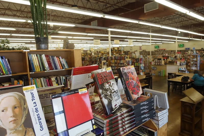 As you can see, HPB is more like a library than a bookstore. The shelves are all perfectly organized and books are clean and prices clearly marked.