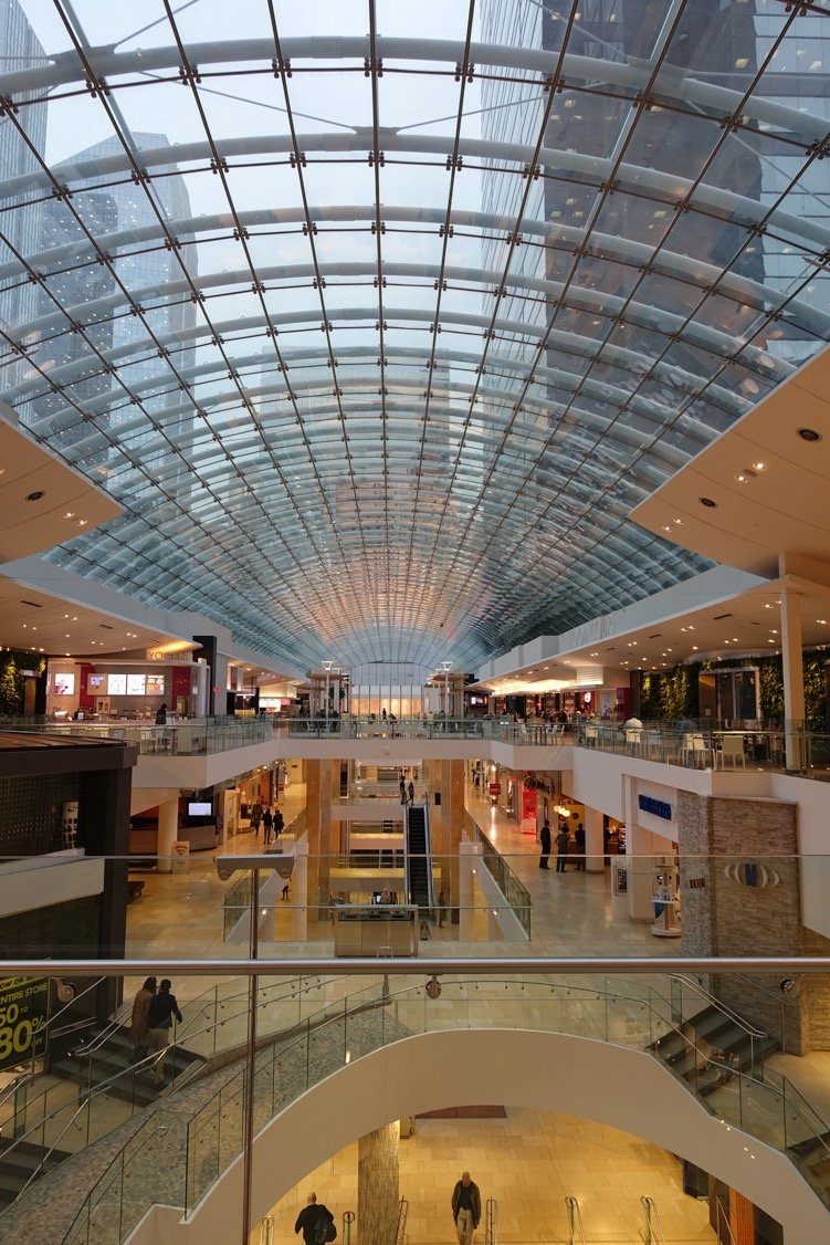 The Core shopping mall in downtown Calgary is the city's fourth busiest mall.