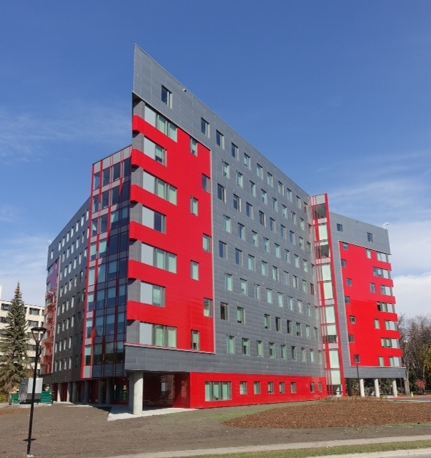 The University of Calgary's campus has also added several architecturally significant buildings as part of their expansion.