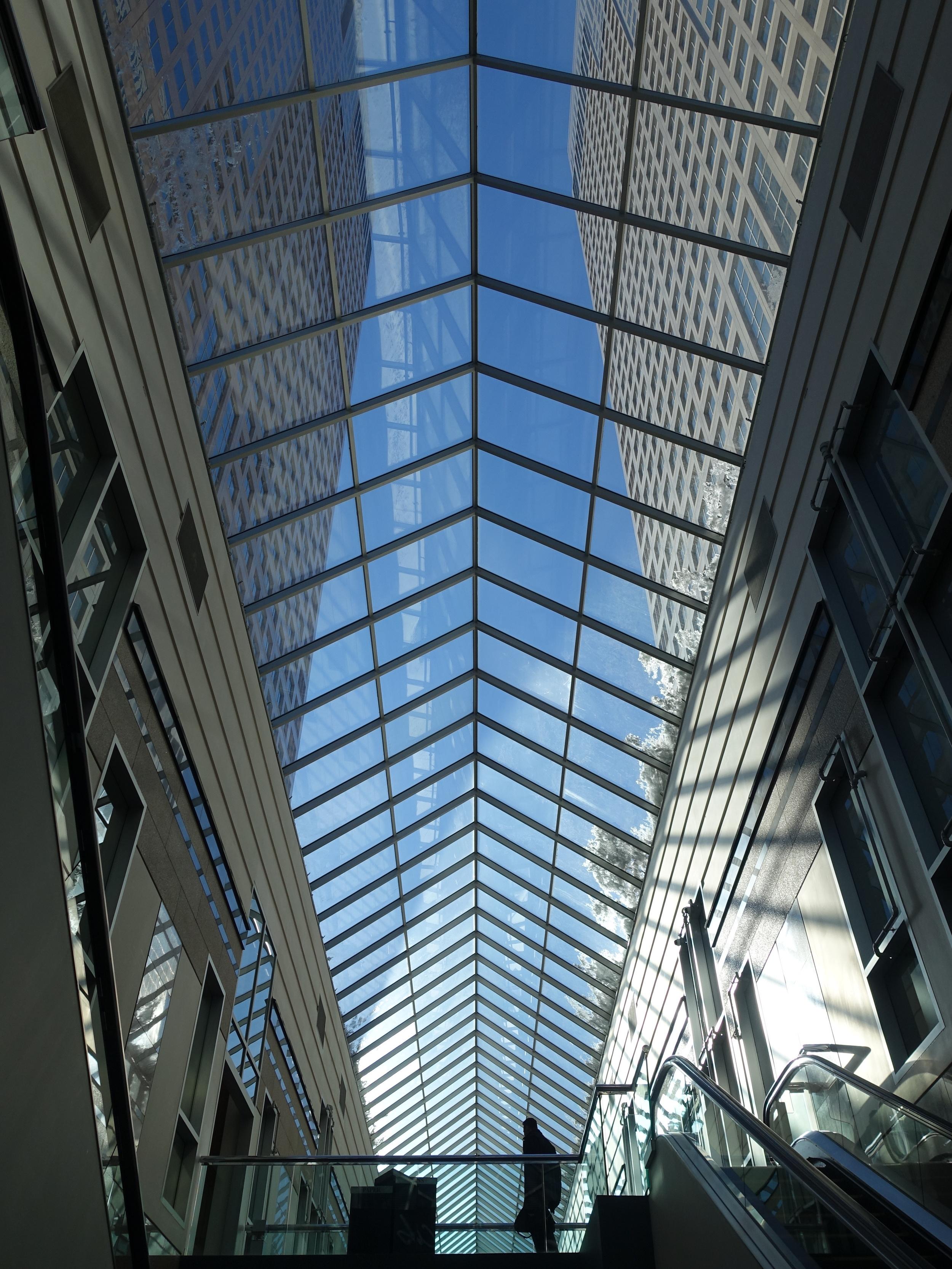 BAnkers Hall Skylight Calgary