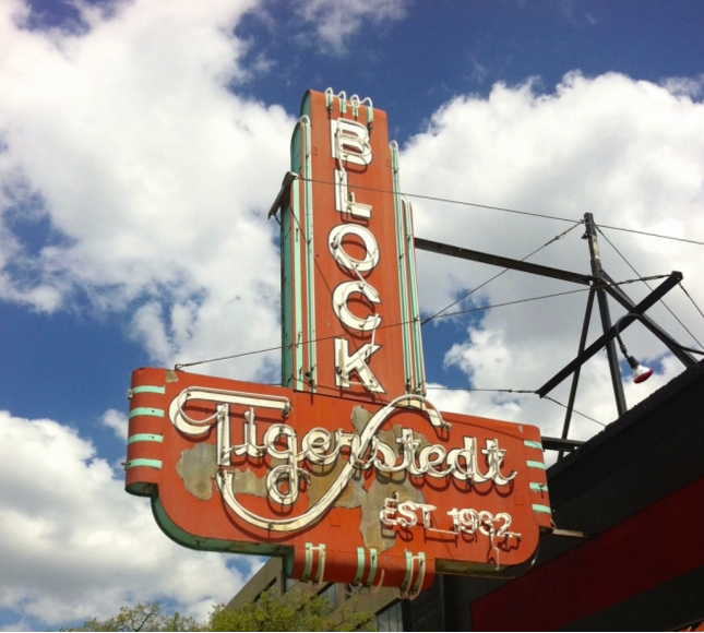 Tigerstedt neon sign