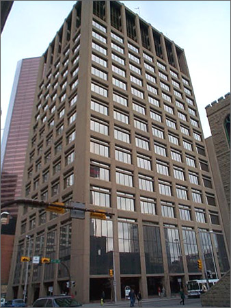 Len Werry building is a 17 storey office building., until recently the ground floor was home to Canada's first workplace school.