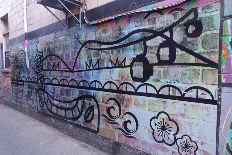 Who knew Calgary's Chinatown has a street art alley?