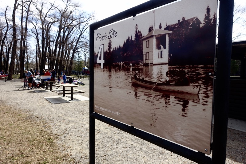 Looking forward to Bowness Park this summer. It will be like a walk back in time with the renovations.