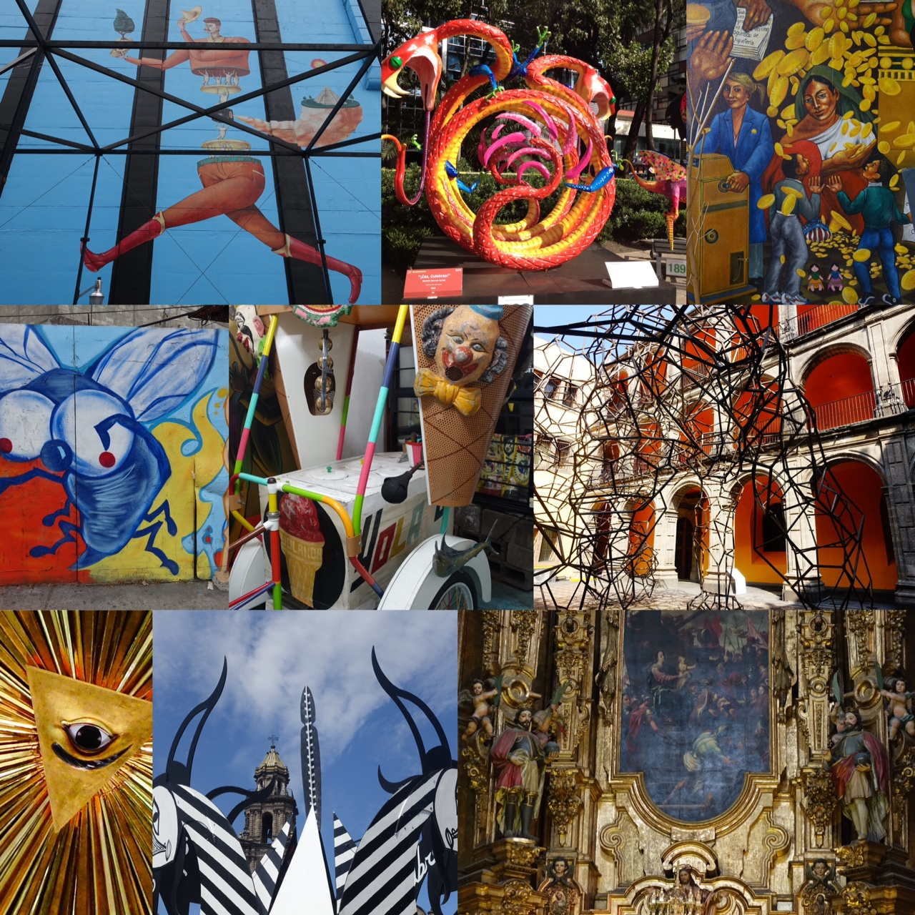 "Mexico City provides an amazing array of things to see and do, from palaces to cathedrals, from museums to public art. It is a ""must see"" city.  Mexico City: Full of fun surprises! link"
