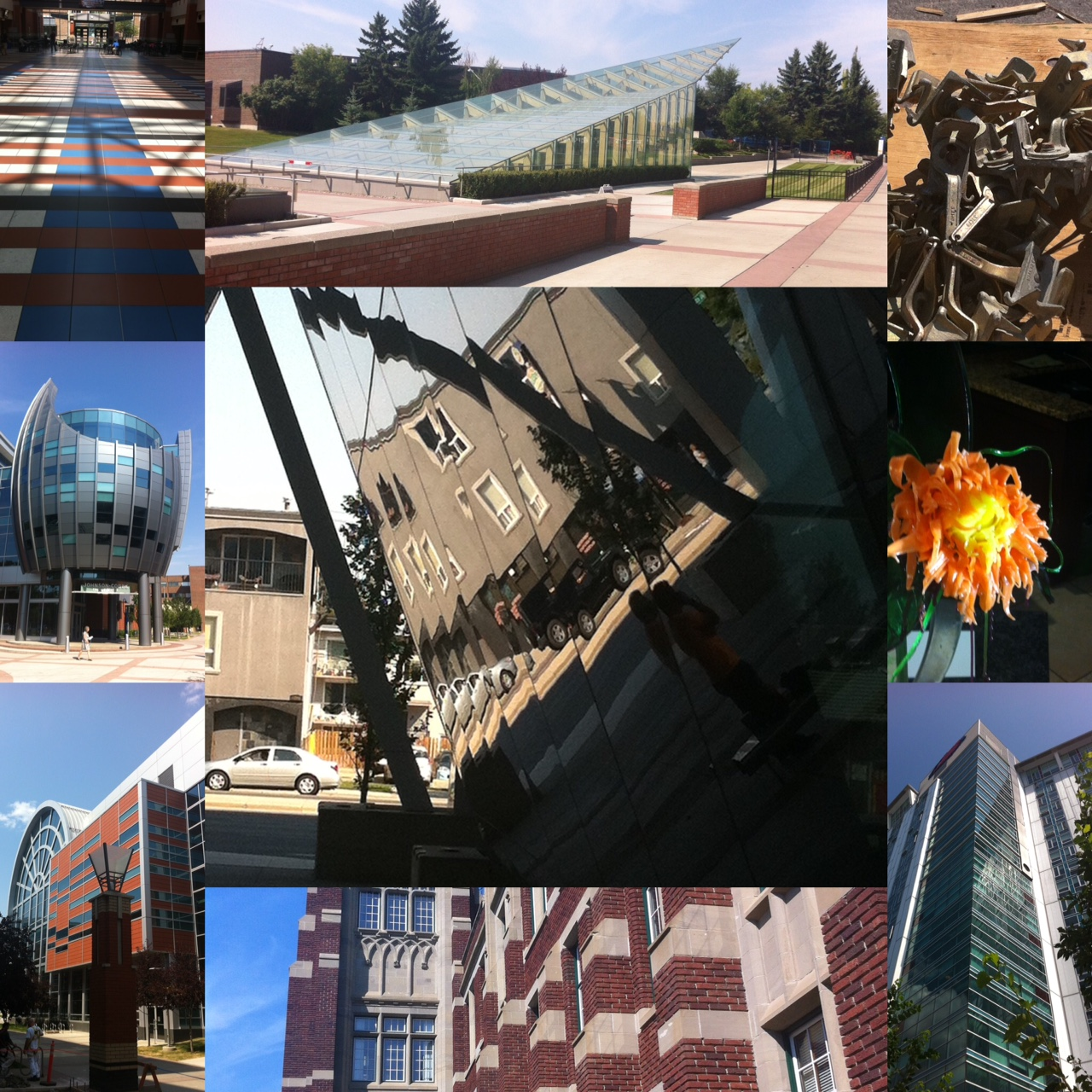 SAIT campus is a hidden gem of old and new urban design.  A-mazing University of New Mexico Link