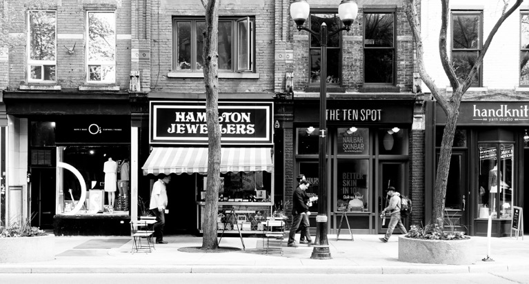 Hamilton Jewellers has been on James Street South for over 70 years.