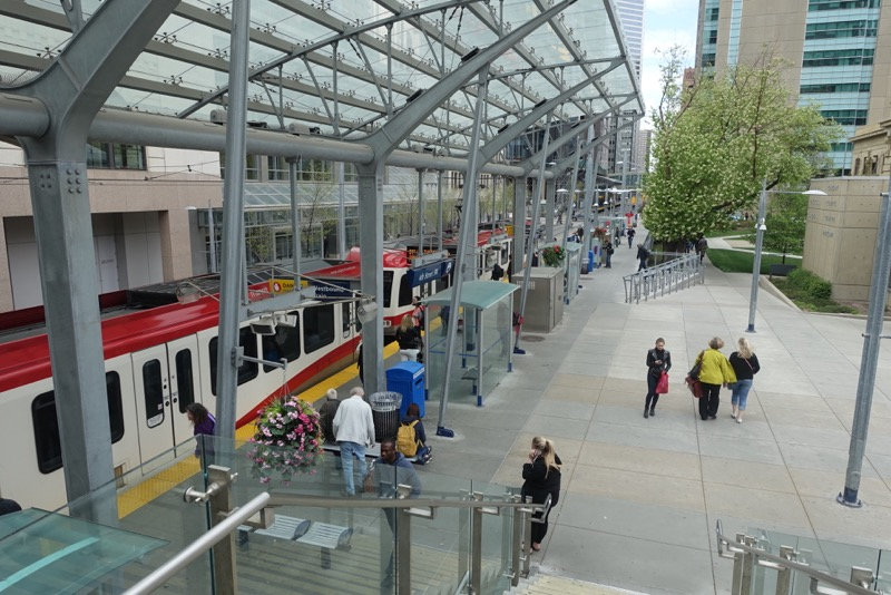 Calgary has one of the busiest Light Rapid Transit systems in North America.