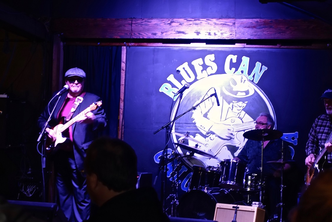 Calgary's Tim Williams at the Blues Can. Williams won the International Blues Competition in 2014.