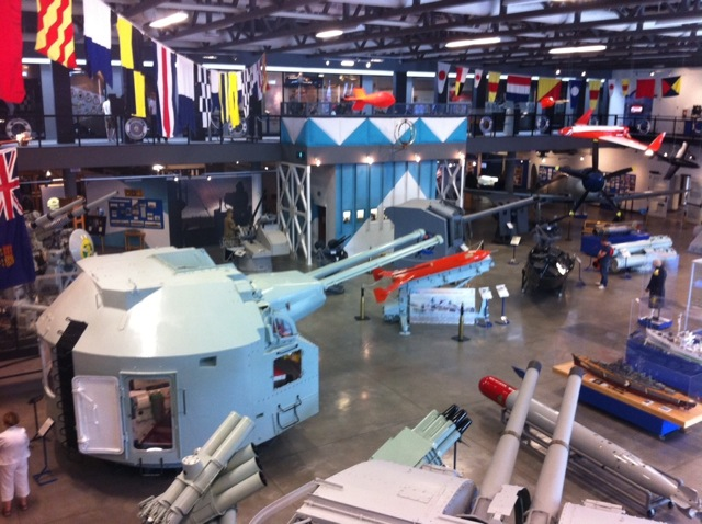 The Calgary Military Museums has not only a great collection of military items, but there are great story boards and videos.