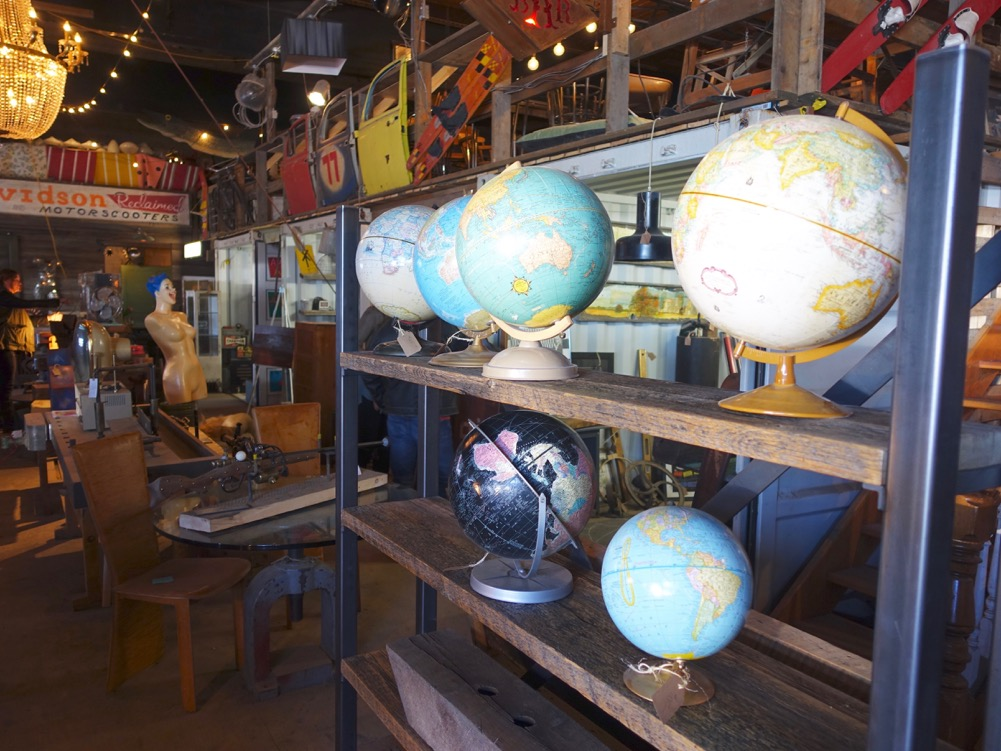 Reclaimed Trading Company is a treasure hunter's dream spot.