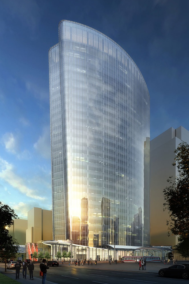 707 Fifth Office Tower will also have an attractive entrance and plaza onto 7th Avenue when completed.