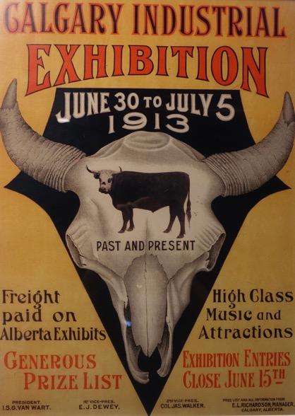 Calgary Stampede Poster 1913
