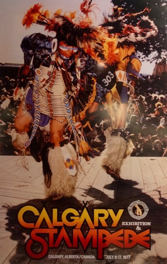 Calgary Stampede Poster 1977