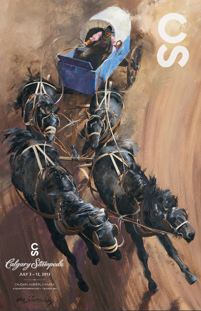 Calgary Stampede Poster 2015