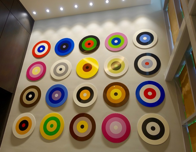 Douglas Coupland's artwork makes a visual statement that most visitors will have to think about.