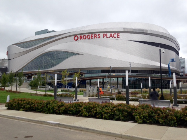 Rogers Place recently opened in downtown Edmonton sparking some Calgarians to have arena envy.