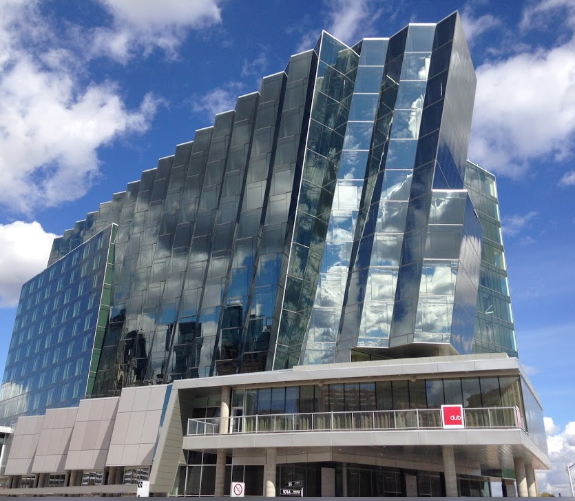 New hotel in Edmonton's Quarters is like a precious jewel-like ring setting.