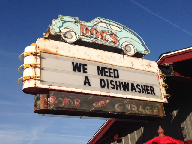 We loved all of the vintage neon signs that were scattered around Austin...